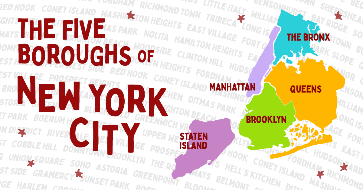 The Five Boroughs of New York City   The Official Guide to New York City
