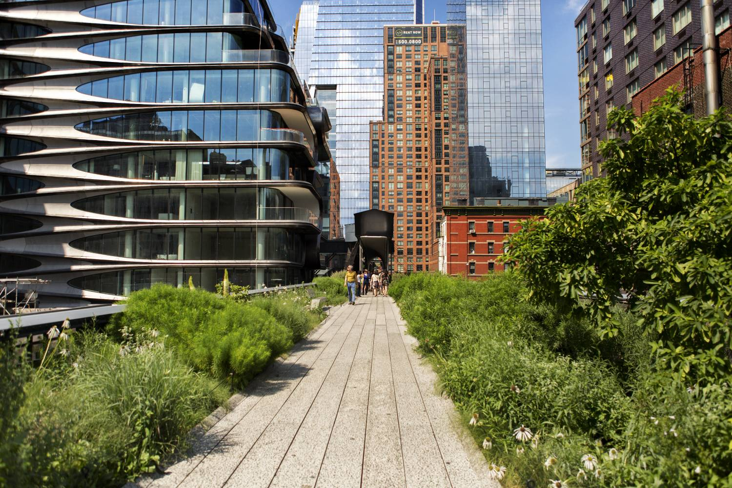 The High Line Manhattan Attractions
